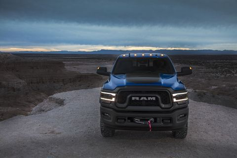 The next-generation Ram Power Wagon joins the rest of Ram's heavy-duty lineup at the Detroit auto show.