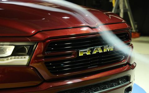 Ram unveiled its 2019 1500 pickup at the 2018 North American International Auto Show.