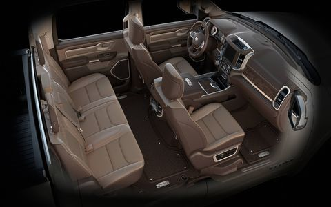 The 2019 Ram Laramie Longhorn adds some rustic flair to the stout new Ram platform.