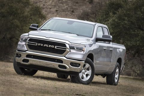 Take a look inside and outside the all-new 2019 Ram 1500 Big Horn pickup.