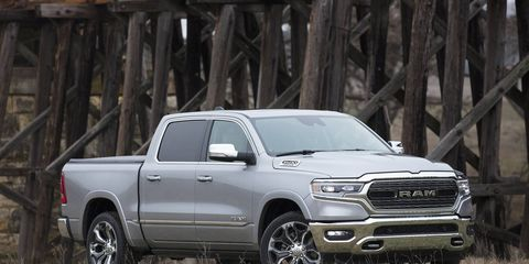 The 2019 Ram 1500 Limited is the all-new full-size truck's loaded range-topper.