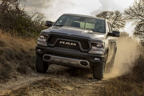 Take a look inside and outside the all-new 2019 Ram 1500 Rebel pickup.