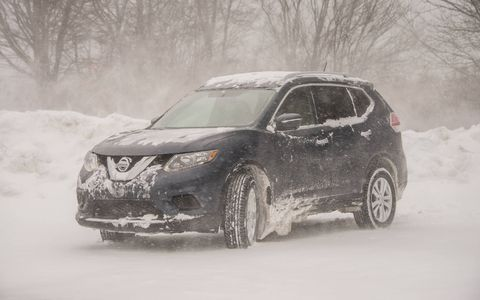 In SV trim and all-wheel drive form, the Rogue we drove was optioned to $28,290.