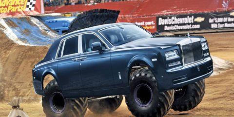 Rolls-Royce SUV (artist rendering)