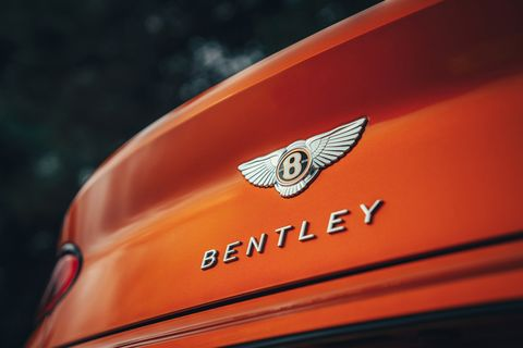 The 2019 Bentley Continental GT Convertible in detail