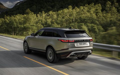 Filling the gap between the Evoque and the Range Rover Sport, the new Velar rides on the same platform as the Jaguar F-Pace. It comes with your choice of three engines: a 3.0-liter supercharged gasoline V6 and a pair of 2.0-liter fours, one gas and one diesel. Prices start at $50,895.