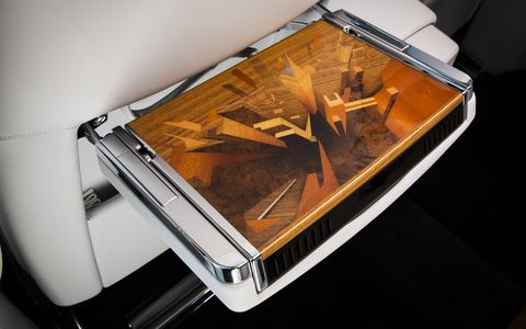 The Metropolitan Collection Phantom will feature marquetry that echos the skylines of great cities.