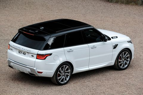 The 2019 Land Rover Range Rover Sport is offered in six trims: SE, HSE, P400e, Supercharged, Autobiography and SVR.