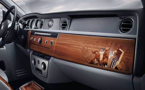 City themes will be present on all interior wood surfaces.