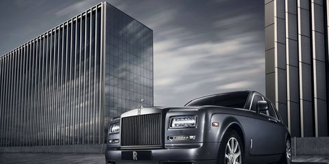 Just 20 examples of the Metropolitan Collection Phantom will be available for commissioning.