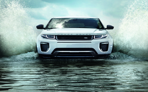 The more-efficient 2016 Range Rover Evoque will debut at the Geneva auto show.