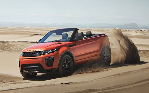 The Range Rover Evoque Convertible is due to go on sale in mid-2016, in two-door form only.