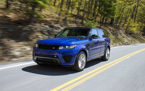 The 5.0 liter engine is paired with a 8-speed automatic transmission.