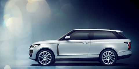 The Range Rover SV Coupe isn't just, according to Land Rover, the 'world's first full-size luxury SUV coupe.' It's also the fastest production full-size Range Rover ever. Pricing starts at $295,000; just 999 will be sold worldwide, so get your order in early.