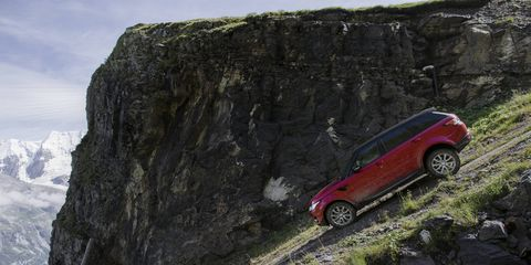 The 2017 Land Rover Range Rover Sport comes with a 5.0-liter V8 making 510 hp and 461 lb-ft of torque.