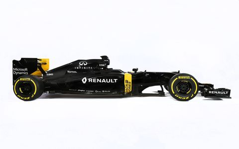 Renault Sport unveiled its new F1 car, the RS16.