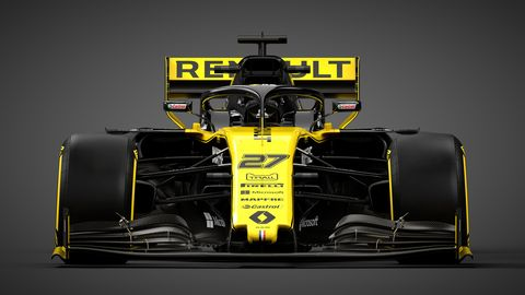 A first look at the 2019 Renault R.S. 19 that was revealed in the United Kingdom on Tuesday.