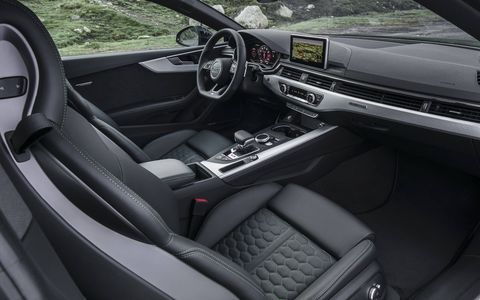 Audi's interior design and execution is still some of the best in the luxury car world. Our particular test car had plush alcantara coverings on the steering wheel, shifter and door panels.