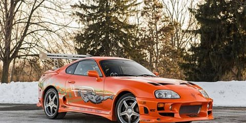 This Supra was used in the final chase scene in 'The Fast and the Furious' movie.