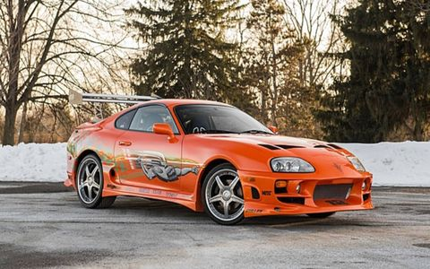 This Supra was used in the final chase scene in the movie.