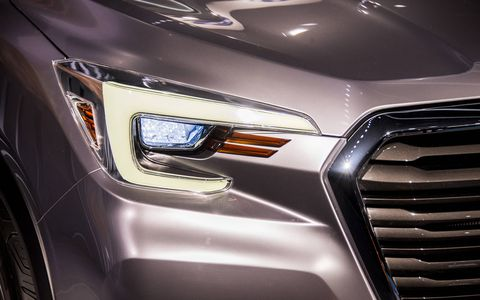 Subaru brought the big Ascent concept to the New York auto show in 2017, previewing an SUV larger than those Subaru is used to making.