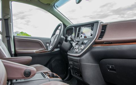 The Sienna pairs a spacious interior with well chosen materials.