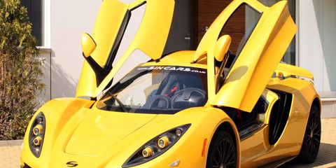 The Sin R1 supercar was designed and built in Bulgaria and comes with a range of Chevy LS engines.