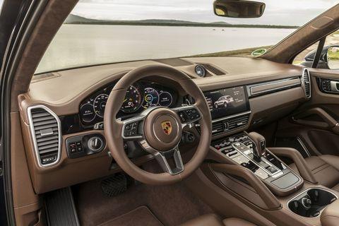 Inside the 2019 Porsche Cayenne E-Hybrid SUV