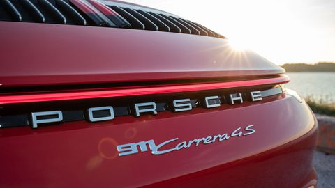 Gallery 2020 Porsche 911 Carrera 4s Cabriolet Red
