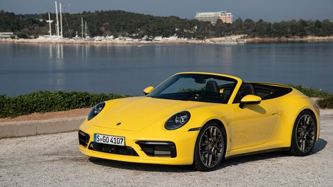 The 2020 Porsche 911 Carrera Convertible goes on sale in early fall.