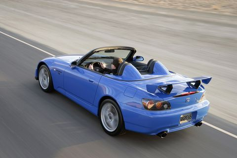 On the Honda S2000 CR, the CR stands for Club Racer, the perfect description of this car's mission statement: go fast and have fun doing it.