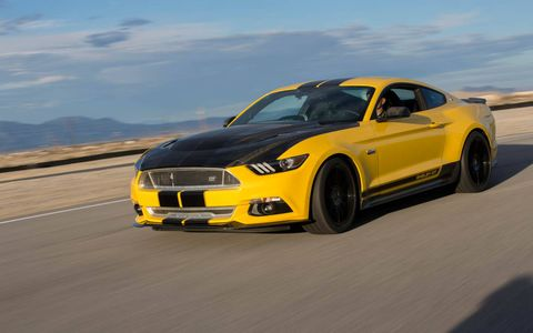 The Shelby Mustangs come in a wide variety of colors and power outputs, (almost) all of them fun.