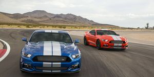 The 2017 Shelby Mustang GTE is an aggressive looking Mustang GT that gets close to Shelby GT350 price.