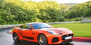 This Jaguar F-Type SVR could be the best part of your European vacation.