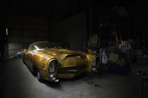Jim Street's Golden Sahara II has been shrouded in mystique for five decades and now heads to auction.