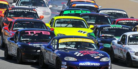 The 51st annual SCCA Runoffs featured racing in 27 classes.