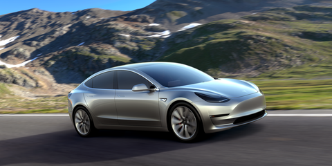 The Model 3 will be Tesla's first attempt at a mass-market electric car.
