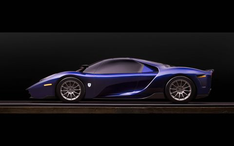 The SCG 004 will come with a twin-turbocharged 5.0-liter V8 making 650 hp and 531 lb-ft of torque, mated to a six-speed manual gearbox or a paddle-shifted automatic.