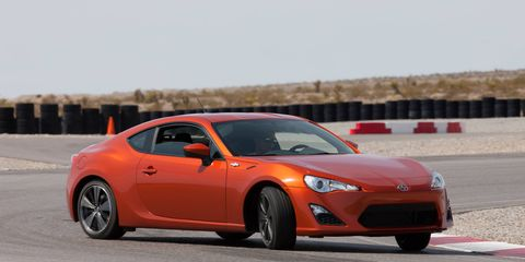 The Scion FR-S is a hot, rear-wheel-drive coupe on the same platform as the Subaru BRZ.