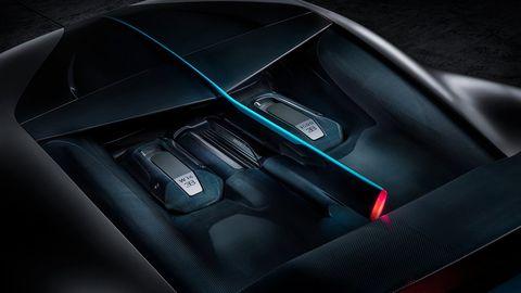 The Bugatti Divo debuts at the 2018 Quail gathering.