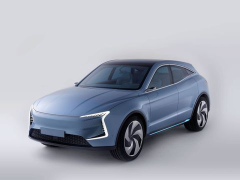 SF Motors revealed their SF5 electric crossover at their Silicon Valley HQ.