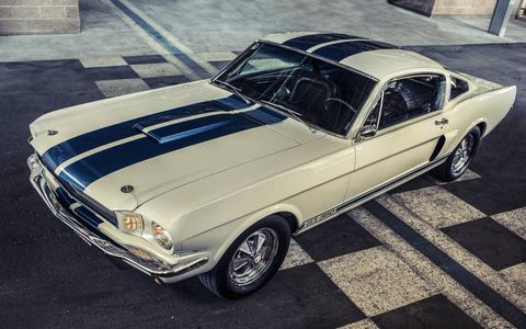 The Lopez family was flipping through the July 29, 1967 issue of Competition Press & Autoweek and spied a Shelby GT350 Mustang in the classifieds. 50 years later, its sister car, serial no. 6S289 -- the car you see here -- is still in the family.