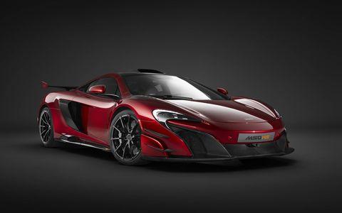 The McLaren MSO HS is a special run of 25 brutal McLaren road cars.