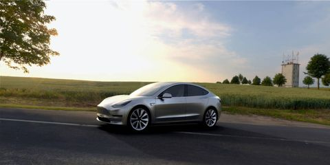 The Tesla Model 3 should start around $35,000, with initial deliveries expected to begin in July.