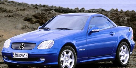 The base model was the SLK 200, though U.S. buyers will probably remember the SLK 230K best.
