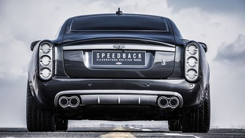 David Brown Automotive plan to produce a special run of 10 Silverstone Edition Speedbacks, with unique details throughout.