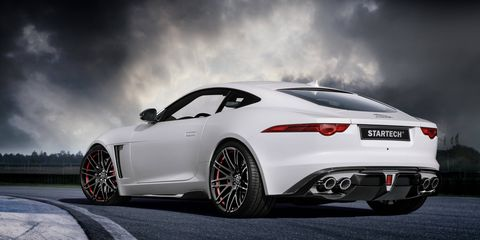 Startech Refinement, a division of German tuner Brabus created an accessories program for the gorgeous Jaguar F-Type.