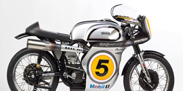 This 1962 Norton Manx Replica Is Part