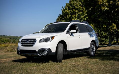 The 2015 Subaru Outback 2.5i Premium has been redesigned for this year, and is on sale now.