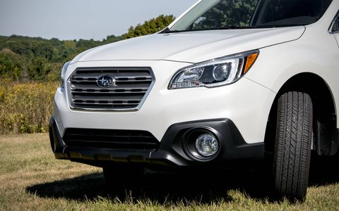 The Outback has received the new corporate grille.